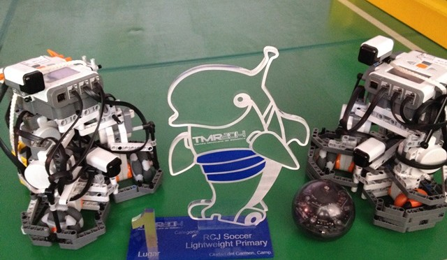 Los Galacticos FIRST PLACE in Torneo Mexicano de Robotica 2014