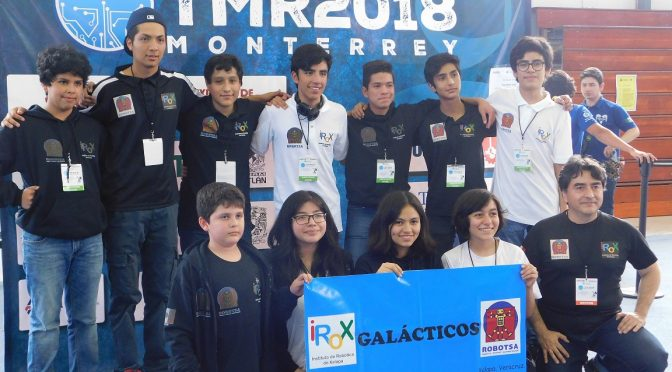 Galacticos FIRST PLACE in Torneo Mexicano de Robotica 2018